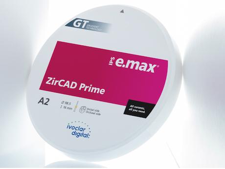 IPS e.max ZirCAD Prime