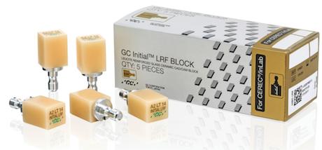 Initial LRF BLOCK for CEREC / inLab
