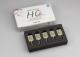 BLOCK HC (UNIVERSAL) 1-schichtig  5 St. Farbe A1-HT  - Größe M (12 x 14 x 18 mm) - Not for CEREC & inLab